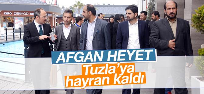 Afgan Heyet, Tuzla'ya Hayran Kaldı