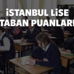 İstanbul TEOG lise taban puanları 2016 - MEB