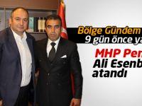 MHP Pendik İlçe Başkanlığına Ali Esenboğa Atandı