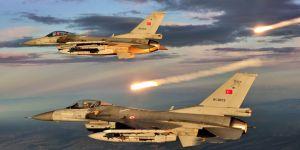 Türk jetleri Kuzey Irağı bombaladı