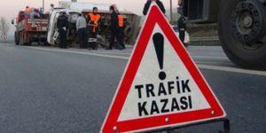 Trafik kazası yine can aldı: 1 ölü 2 yaralı