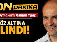 Pendik Kaymakamı Osman Tunç Gözaltına Alındı