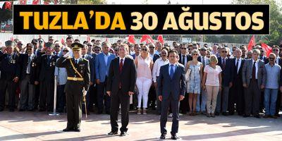 Tuzla'da 30 Ağustos Zafer Bayramı