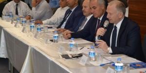 Alüminyum sektörü temsilcileri Çorlu'da bir araya geldi
