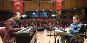 Tuzla'da Engelleri Aşan Piyano Resitali