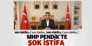 MHP Pendik İlçe Başkanı Ali Esenboğa İstfa etti