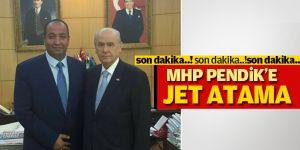 MHP Pendik'e Jet Atama; Yüksel Cebe oy birliği ile ilçe başkanı!