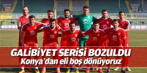 Pendikspor seriyi Konya'da bozdu