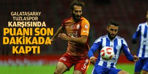 Galatasaray, Tuzlaspor'u 90+1'de yendi!