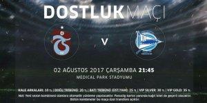 Trabzonspor Deportivo Alaves Maçı Canlı 02.08.2017