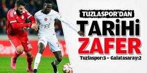 Tuzlaspor'dan tarihi zafer! Galatasaray'ı da yendi