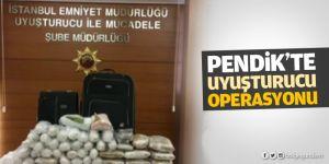 Pendik'te uyuşturucu operasyonu: 24 kilo yakalandı