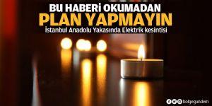 İstanbul Anadolu Yakasında Elektrik kesintisi! Elektrikler nezaman gelecek