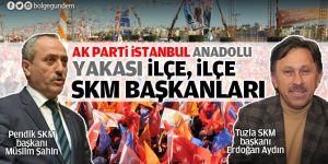 AK Parti İstanbul Anadolu Yakası İlçe, İlçe SKM Başkanları