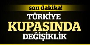 Türkiye Kupasında Sistem Değişti