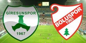 Boluspor Giresunspor Maçı Canlı İzleme  2017-2018 Sezonu
