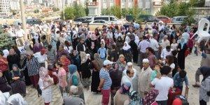 Uşak'ta hacı adayları kutsal topraklara uğurlandı