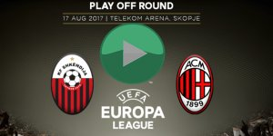 Milan - Shkendija 79 Maçı Canlı İzleme
