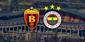 Vardar Fenerbahçe maçında ilk yarı sonucu :1-0