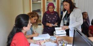 Toroslar'da kadınlar sağlık taramasından geçiriliyor