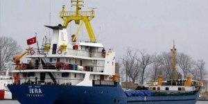 İskenderun Körfezinde yük gemisi batmaya başladı, 10 personel kurtarıldı