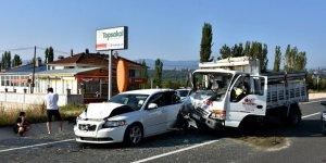 Kastamonu'da zincirleme trafik kazası: 3 yaralı