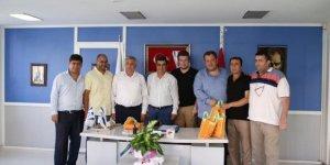 Gediz Uluoymak 1 Eylülspor-İzmirspor 'kardeş takım' oldu
