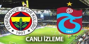 Fenerbahçe Trabzonspor Maçı Geniş Maç Özeti