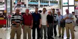 Hacı adayları ABD'den kutsal topraklara uğurlandı