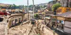 Bitlis'te Sokak sağlıklaştırma çalışmaları devam ediyor