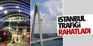 İstanbul trafiğini rahatladı