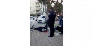 Mersin'de mahkum herkesin gözü önünde jilet yuttu
