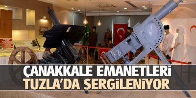 Çanakkale Emanetleri, Tuzla'da Sergileniyor
