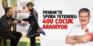 Pendik'te Spora Yetenekli 400 Çocuk Aranıyor