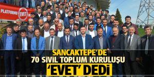 """Sancaktepe'de 70 sivil toplum kuruluşu """"evet"""" dedi"""