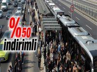 Kurban Bayramında Ulaşım Yüzde 50 İndirimli