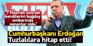 Cumhurbaşkanı Erdoğan İstanbul'daki ilçe mitinglerine Tuzla'dan başladı!