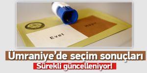 Ümraniye 16 Nisan 2017 Anayasa Referandumu Sonuçları