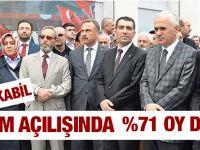 Kabil Pendik'ten %71 Oy Dedi