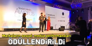 Markaların sosyal medya performansları ödüllendirildi