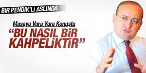 """Yalçın Akdoğan: """"Bu nasıl bir kahpeliktir"""""""