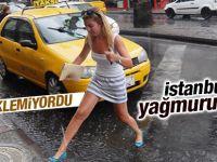 İstanbul'a 10 Dakikalık Yaz Yağmuru