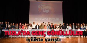 Tuzla'da Genç Gönüllüler iyilikte yarıştı, Başkan Yazıcı ödüllendirdi