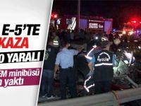 Gebze-Harem Minibüsü Yine Can Yaktı: 2 Ölü 10 Yaralı