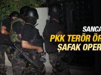 Sancaktepe'de PKK'ya Şafak Operasyonu