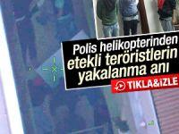 Sultanbeyli'de Yakalanan Etekli teröristlerin, Yakalanma Anı Kamerada