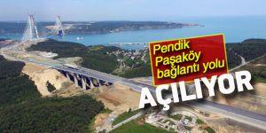 Pendik-Paşaköy bağlantı yolu açılıyor