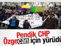 Pendik CHP Özgecan için yürüdü