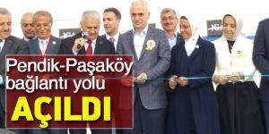 Pendik-Paşaköy yolu açıldı