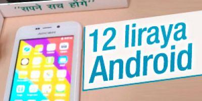 Dünyanın En ucuz akıllı telefonu 12 lira